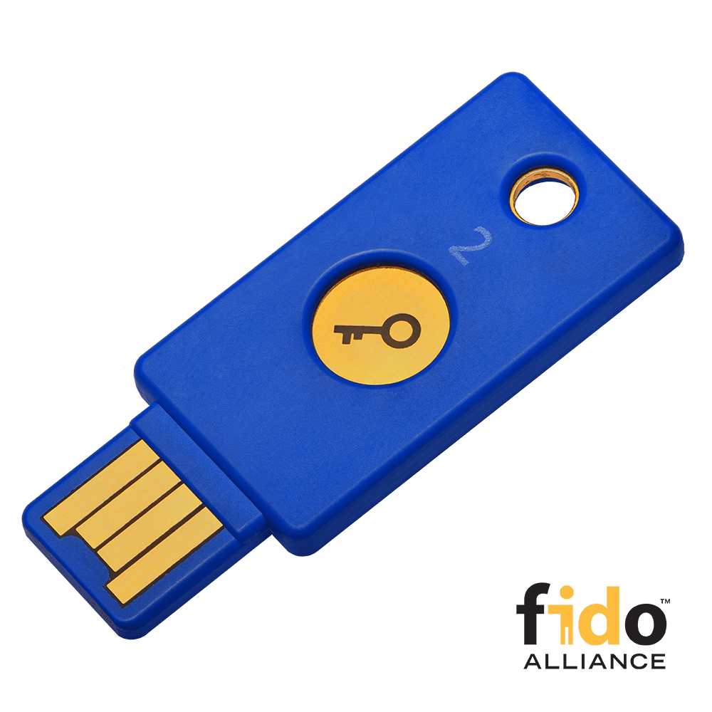 Yubico FIDO2 U2F Security Key | MKB Security B V